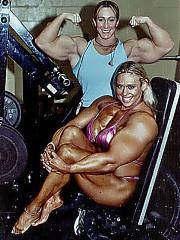 Only Muscle girls sex.18+