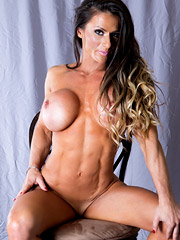 Nudes of IFBB Pro Figure Competitor Sheila Rock