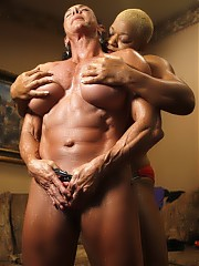 Debra D'Andrea and Flame - pose and play