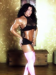 Tracy Daniels and her hard body