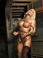 Ashlee Chambers - female muscle in the dungeon