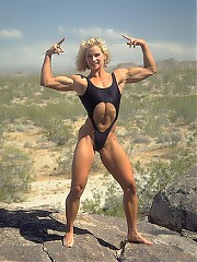Natural female muscle and fit women...